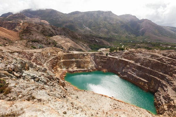 A quarry using our centrifugal pump in WA